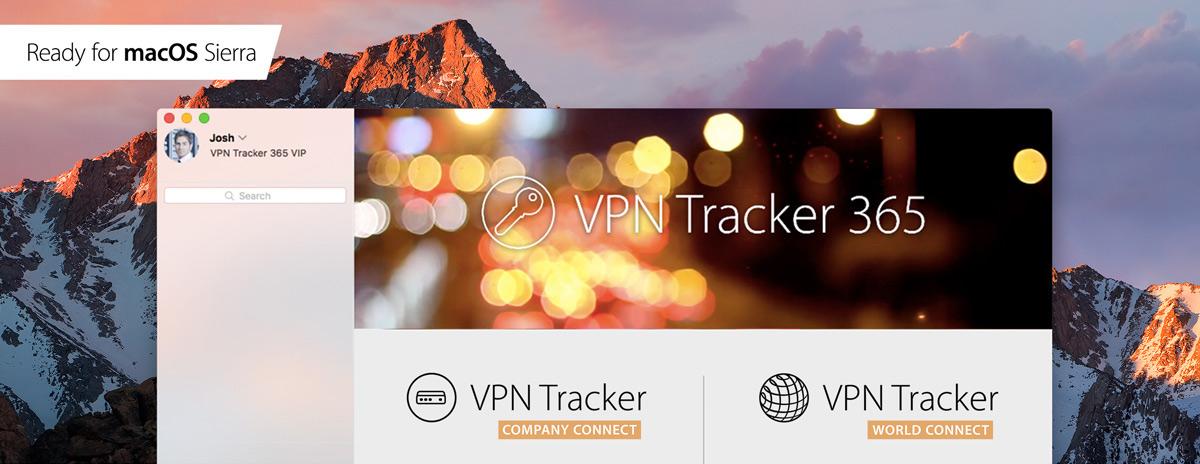 VPN Tracker 365: Ready for Sierra & PPTP VPN for macOS Sierra