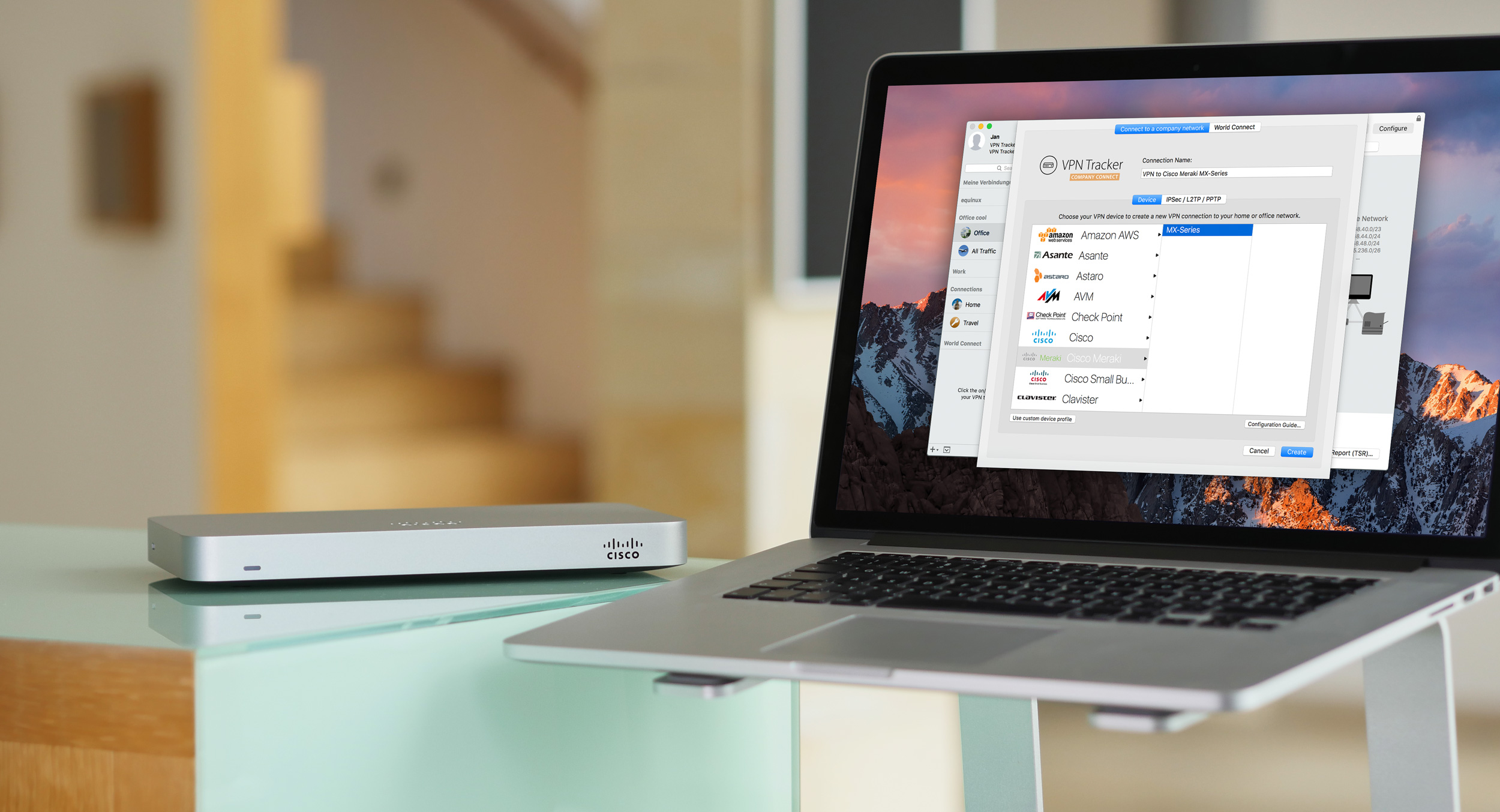 How to connect to Cisco Meraki VPN from your Mac - equinux blog
