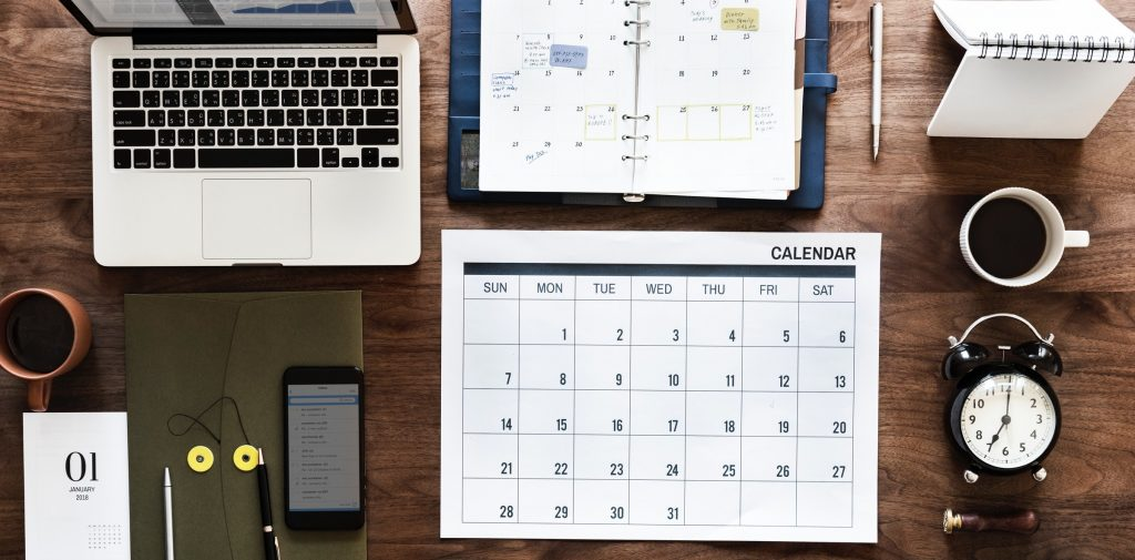 Plan your remote working schedule