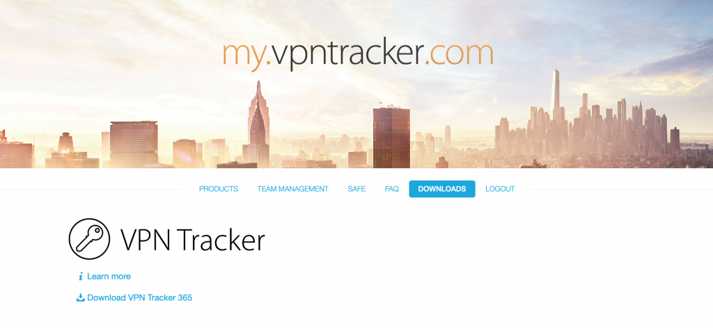 Download the VPN Tracker app